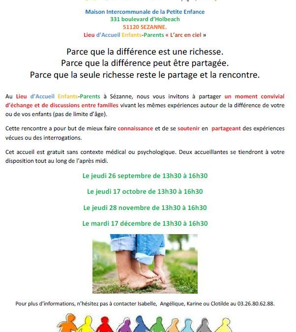 MAISON INTERCOMMUNALE DE LA PETITE ENFANCE – RENCONTRE ENTRE FAMILLES